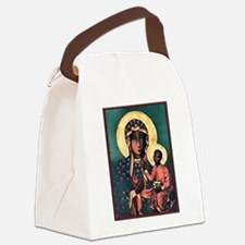 Blackmadonna.png Canvas Lunch Bag