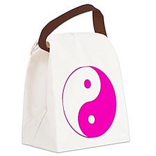 Yin_yang-pink.png Canvas Lunch Bag