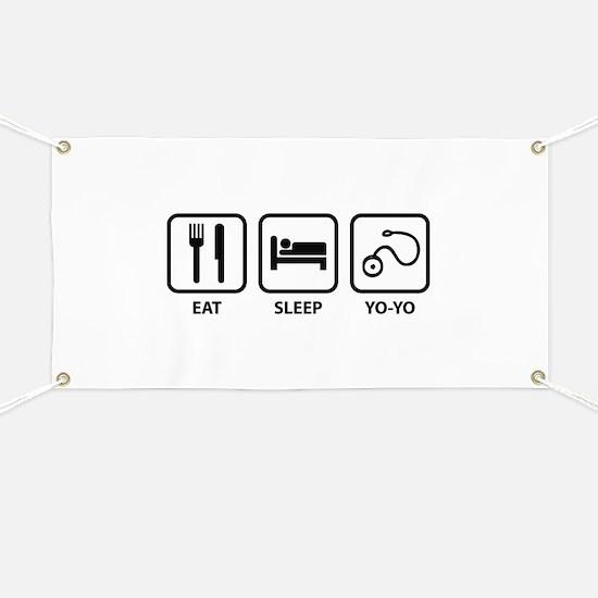 Eat Sleep Yo-Yo Banner