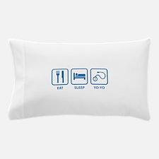 Eat Sleep Yo-Yo Pillow Case