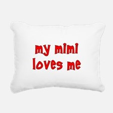 mimiredpoornut.png Rectangular Canvas Pillow