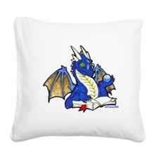 bluebook1.png Square Canvas Pillow