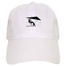 Kokopelli Hang Glider Baseball Cap