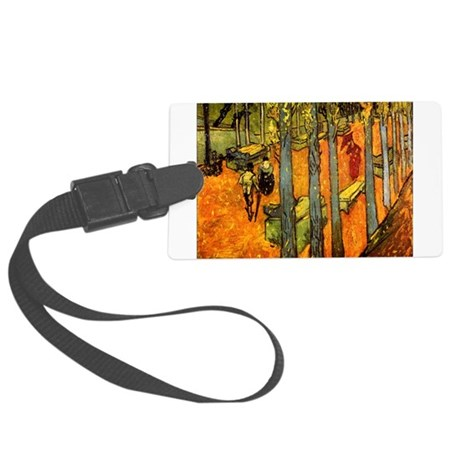 Alyscamps_van_gogh.png Large Luggage Tag