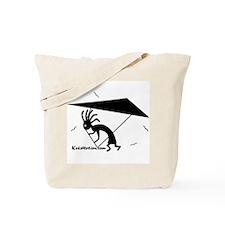 Kokopelli Hang Glider Tote Bag