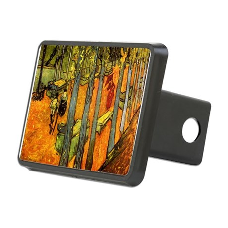 Alyscamps_van_gogh.png Rectangular Hitch Cover