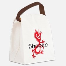 Shaolin Red Dragon Tee Canvas Lunch Bag