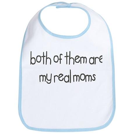Both Of Them Are My Real Moms Bib