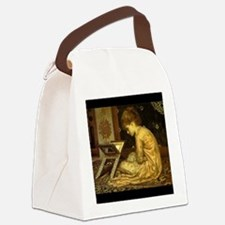studyatreadingdesk3.jpg Canvas Lunch Bag