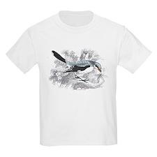 Great Cinereous Shrike Bird Kids T-Shirt