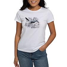 Great Cinereous Shrike Bird (Front) Tee