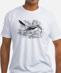 Great Cinereous Shrike Bird (Front) Shirt