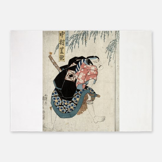 Nakamura Shikan - Toyokuni Utagawa - 1830 5'x7'Are