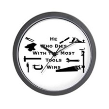 Most Tools Wall Clock