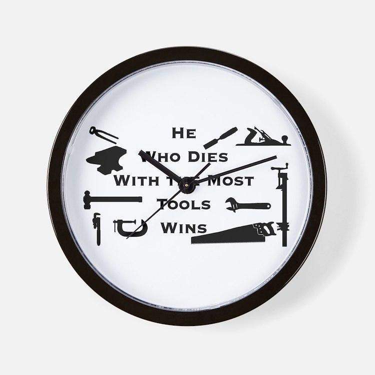 Most Tools Wall Clock
