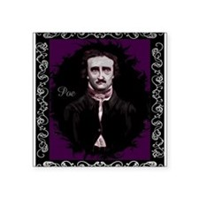 "Edgar Allan Poe Square Sticker 3"" x 3"""