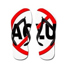 Anti / No ACLU Flip Flops