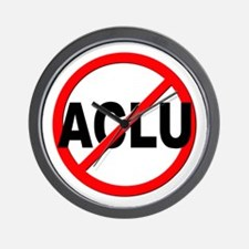 Anti / No ACLU Wall Clock