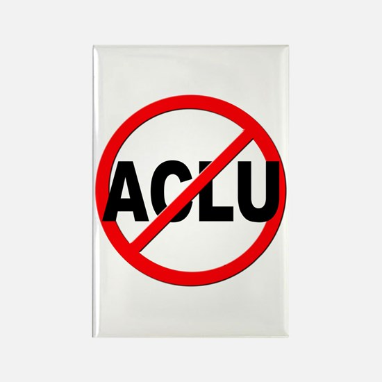 Anti / No ACLU Rectangle Magnet