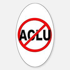 Anti / No ACLU Decal