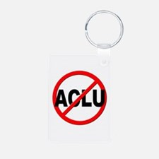Anti / No ACLU Keychains