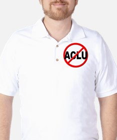 Anti / No ACLU Golf Shirt