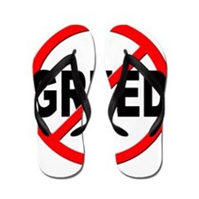 Anti / No Greed Flip Flops