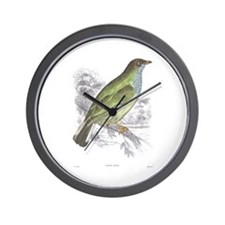 Honey Guide Bird Wall Clock