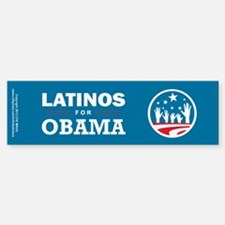 Latinos for Obama Stickers