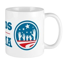 Latinos for Obama Mug