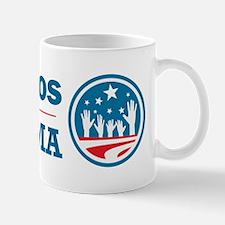 Latinos for Obama Mug