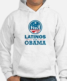 Latinos for Obama Hoodie