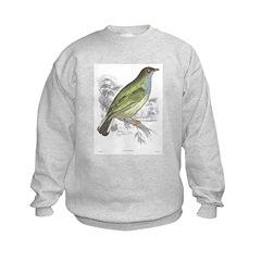 Honey Guide Bird Sweatshirt