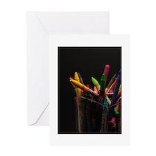 Crayon Fun Greeting Card