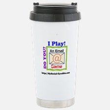 Email Game Image Stainless Steel Travel Mug