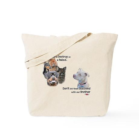 Save the Pitbull Tote Bag