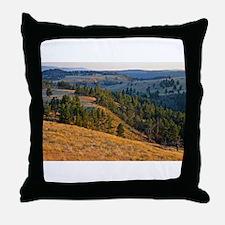 Wind Cave Elk Valley Throw Pillow
