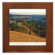 Wind Cave Elk Valley Framed Tile