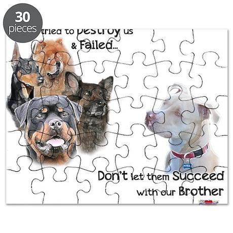 Save the Pitbull Puzzle