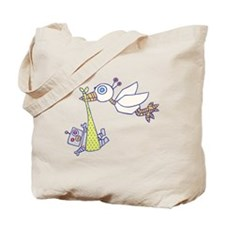 Robot Baby Delivery! Tote Bag
