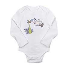 Robot Baby Delivery! Long Sleeve Infant Bodysuit