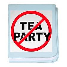 Anti / No Tea Party baby blanket