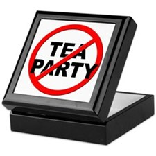 Anti / No Tea Party Keepsake Box