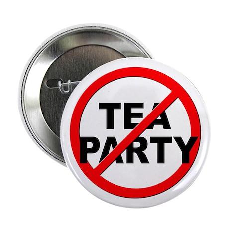"""Anti / No Tea Party 2.25"""" Button"""