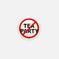 Anti / No Tea Party Mini Button