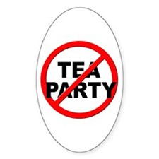 Anti / No Tea Party Decal