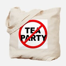 Anti / No Tea Party Tote Bag