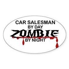 Car Salesman Zombie Decal