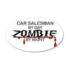 Car Salesman Zombie Wall Sticker