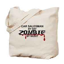 Car Salesman Zombie Tote Bag